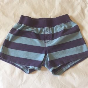 TEA COLLECTION Girls 7 Cotton Terry Pull-On Shorts